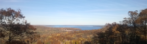 Fall with Lake Superior in the disance