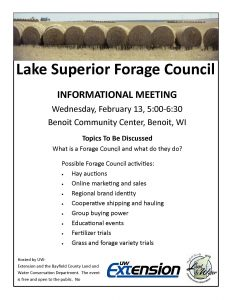 Lake Superior Forage Council