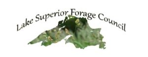 Lakes Superior Forage Council-outline of Lake Superior filled with grasses