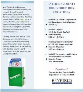 Permanent Drug Drop Off Boxes