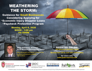 Weathering the Storm poster