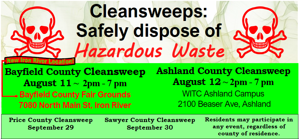 2020 CleanSweep dates