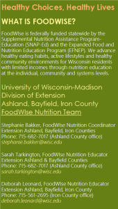 FoodWIse contacts