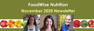 FoodWIse November Header
