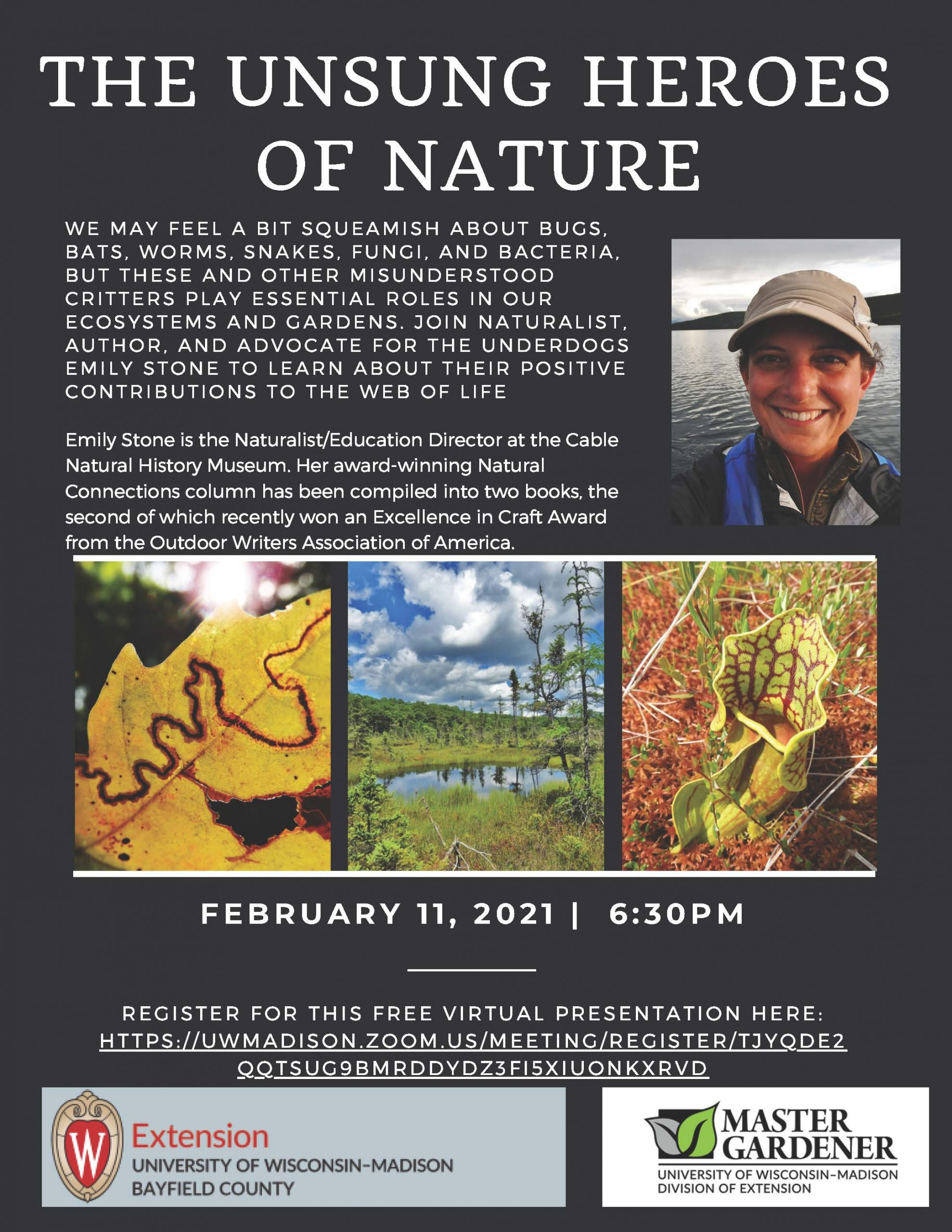 Unsung Heroes of Nature flyer