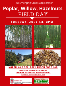 uly 13 New Crops Field Day