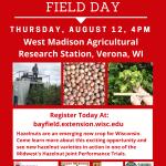 2021 WI Hazelnuts Field Day