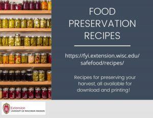 Food Preservation Recipes
