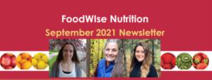 September FoodWIse Newsletter